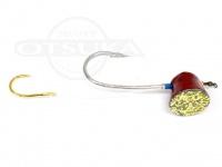 石丸産業 オリジナル1つテンヤ - 5号大鯛仕様 赤金