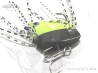 K-ROガイドサービス トップウォーター - サンダルン  #グリーン/ブラック(ラバーの色はランダムです) ツートンカラー
