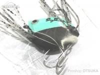 K-ROガイドサービス トップウォーター - サンダルン  #ブルー/ブラック(ラバーの色はランダムです) ツートンカラー