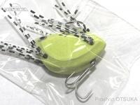 K-ROガイドサービス トップウォーター - サンダルン  #グリーン(ラバーの色はランダムです) 桧原湖発のムシルアー