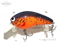 スキルフル スコブルシリーズ - ニュースコブルクランク #オレンジスプラッター 5.5cm 約9g スクエアリップ