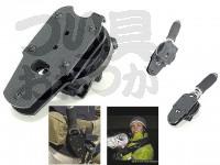 サンテック オーシャングリップ専用ホルスター - 角度調節機能付き ブラック