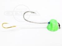 石丸産業 オリジナル1つテンヤ - 5号 グリーングロー 親針19号 孫針5号