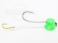 石丸産業 オリジナル1つテンヤ - 6号 グリーングロー 親針19号 孫針5号