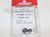 サワムラ ボールベアリング - IXA セラミック ダイワ用 - 1034+834