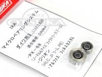サワムラ ボールベアリング - IXA マイクロベアリングシステム ダイワ用 - 1134+834