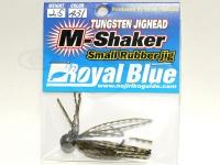 ロイヤルブルー M-シェーカー スモールラバージグ - 2.5g #431 2.5g