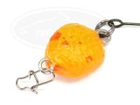 どっこい製作所 ペレットルアー ソリッド -  #D22 カラシオレンジ 10mm 0.8g スローシンキング