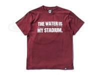 バスブリゲード Tシャツ - TWIMS  #バ-ガンディ/ホワイト Sサイズ