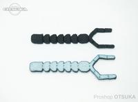 ウィーズスピリッツ ブタルアー - ユーヤン イチゴー #ブラック/ナチュラル 約130mm 個体差があります
