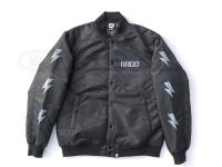 バスブリゲード アウターウェア - BRGDディビジョンサテンバーシティジャケット #ブラック/グレー Lサイズ