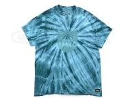 バスブリゲード Tシャツ - シールドタイダイ #ティール Lサイズ USAサイズ