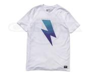 バスブリゲード Tシャツ - ボルトグラディエント  #ホワイト Sサイズ USAサイズ