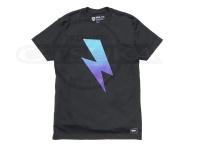 バスブリゲード Tシャツ - ボルトグラディエント  #ブラック Mサイズ USAサイズ