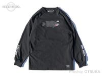 バスブリゲード Tシャツ - ファイターランカー ロングスリーブ #ブラック Sサイズ USAサイズ