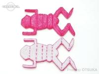ウィーズスピリッツ ブタルアー - ユーヤン ヨンゴー  #ピンク/ナチュラル 約3.4インチ 個体差があります