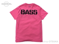 バスブリゲード Tシャツ - BRGDロゴ #セーフティーピンク Sサイズ