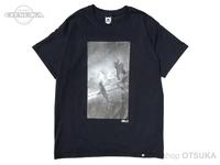 バスブリゲード Tシャツ - BRJD  #1 #ブラック/モノクローム Lサイズ