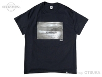 バスブリゲード Tシャツ - BRJD  #2 #ブラック/モノクローム Mサイズ