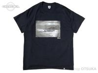 バスブリゲード Tシャツ - BRJD  #2 #ブラック/モノクローム Lサイズ
