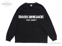 バスブリゲード Tシャツ - BBワードマーク ロングスリーブ #1 #ブラック Lサイズ