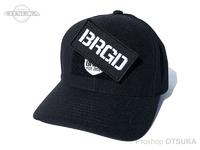 バスブリゲード キャップ - BRGDパッチ クール&ドライ #ブラック フリーサイズ