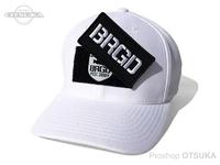 バスブリゲード キャップ - BRGDパッチ クール&ドライ #ホワイト フリーサイズ