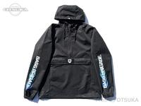 バスブリゲード ジャケット - BRGDフレイム アノラック #ブラック/ブルー Sサイズ