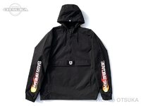 バスブリゲード ジャケット - BRGDフレイム アノラック #ブラック/レッド Mサイズ