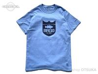 バスブリゲード Tシャツ - アーバンエクスプローラー S/S  #カリフォルニアブルー/ネイビー Sサイズ