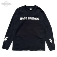 バスブリゲード Tシャツ - 3D BRGD ロングスリーブ #ブラック Mサイズ