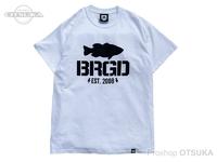 バスブリゲード Tシャツ - アンシールデッドロゴ  #ホワイト Mサイズ