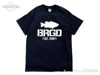 バスブリゲード Tシャツ - アンシールデッドロゴ  #ブラック XLサイズ