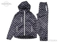 バスブリゲード アウターウェア - バスブリゲード パッカブルジャケット&パンツセット #ブラック Lサイズ