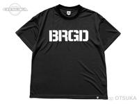 バスブリゲード Tシャツ - BASS ドライ ビッグ #ブラック/ホワイト XLサイズ