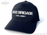 バスブリゲード キャップ - BBワードマーク リフレクティブ ドライ #ブラック/ホワイト フリーサイズ