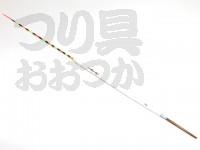 力也 厳寒期 底パイプ -  # 白×水色帯 #12ボディ12Xトッフ13.5X足4cm