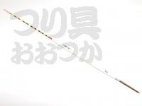 力也 厳寒期 底パイプ -  # 白×水色帯 #13ボディ13Xトッフ14.5X足4cm