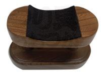 高商 玉の柄置き - 玉の柄置ケヤキ ケヤキ # 60mmX110mm