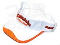忠相HX-JAPAN オリジナルサンバイザー -  #ホワイト&オレンジ サイズ フリー