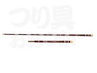 光竹 カーボン竿掛1本半物 笛巻 紗織 - 竿掛1本半 # レッド総塗 85-118 先内径6.5cm元内径11.5cm