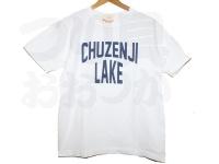 BIGFISH 1983 CHUZENJI LAKE - 中禅寺湖チャリティーTシャツ #LAKE WHITE (レイクホワイト) #0(S)サイズ