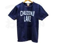 BIGFISH 1983 CHUZENJI LAKE - 中禅寺湖チャリティーTシャツ #KOKANEE NAVY (コカニーネイビー) #1(M)サイズ
