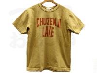 BIGFISH 1983 CHUZENJI LAKE - 中禅寺湖チャリティーTシャツ #AUTUMN YELLW (オータムイエロー) #1(M)サイズ