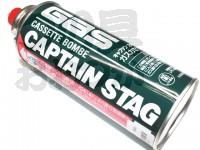 キャプテンスタッグ ガスカセットボンベ -  - LPG液化ブタン 可燃性ガス/有臭