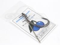 グゥーバー フェロモンチェリー -  ブルー 使用フック がまかつワーム321 #4/0